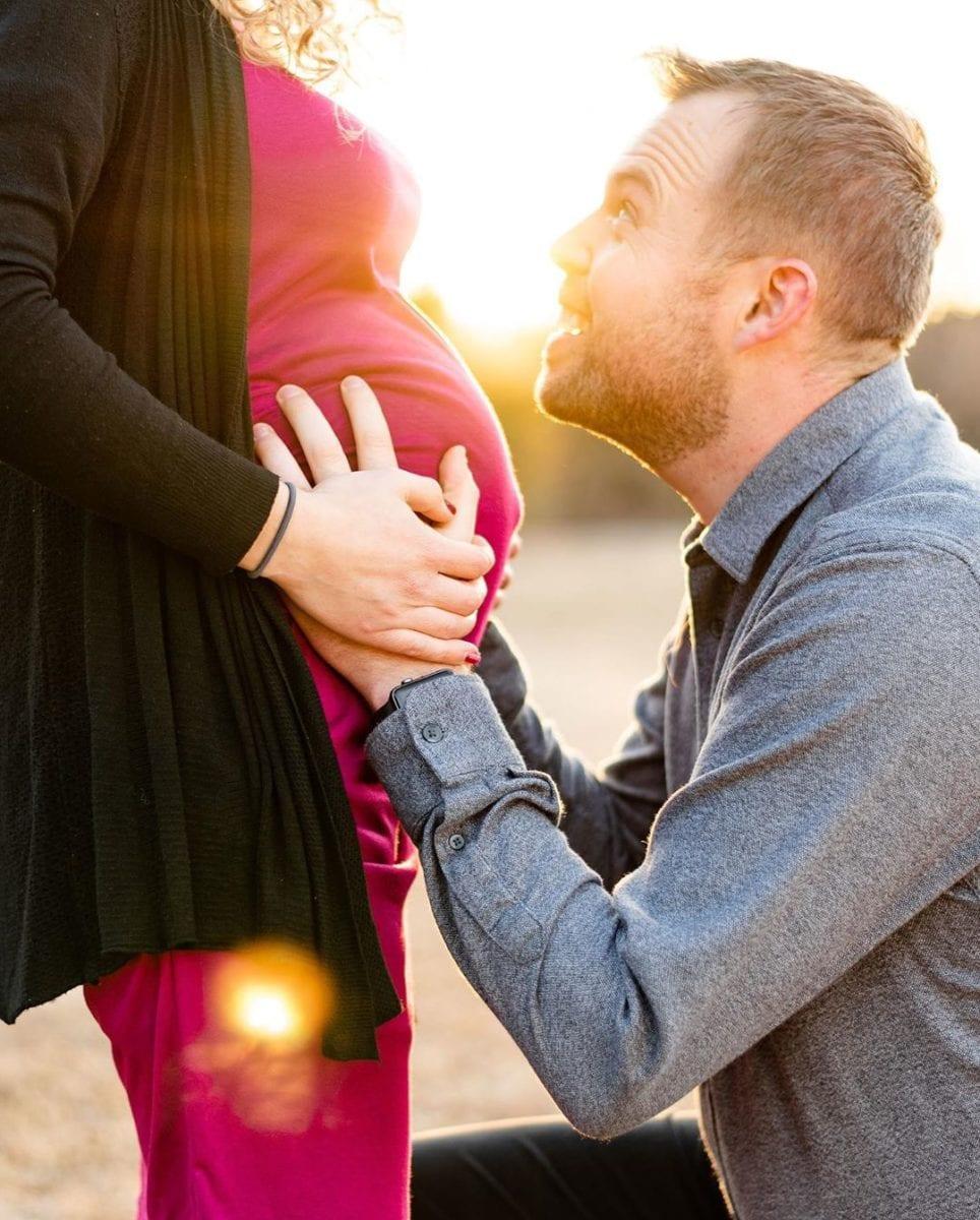 abbie duggar's stunning 8 month maternity shoot