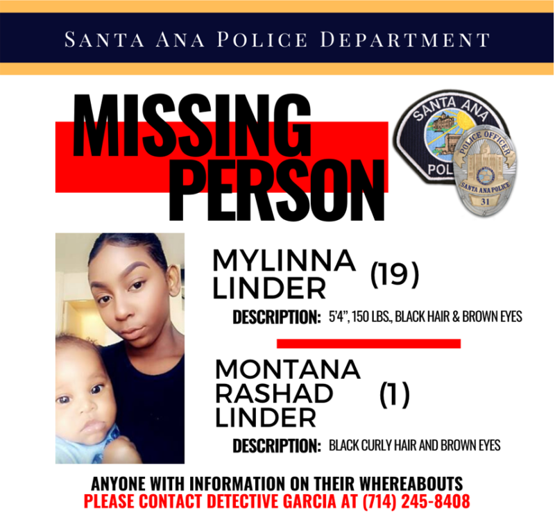 mylinna linder: family received 'strange' texts from missing mom's phone after she disappeared with 1-year-old son