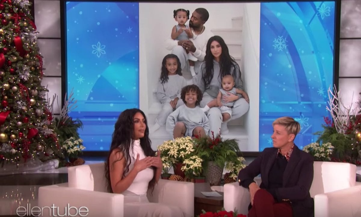 Kim Kardashian West Admits She Had to Photoshop Her Oldest Child North Into Their Family Christmas Card