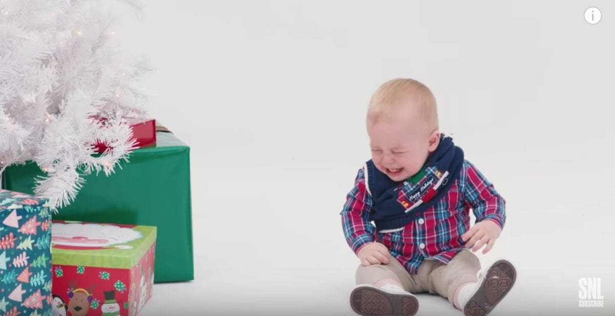 Saturday Night Live Nails Christmas Outfit Ad for Children and All the Stress Parents Deal With During the Holidays