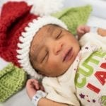 A Pittsburgh Hospital Is Spreading Christmas Cheer After Sharing Pictures of Newborn Babies Dressed as Baby Yoda