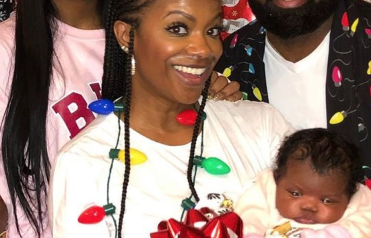 Kandi Burruss Shares First Face Photo of the Newest Member of Their Family, 1-Month-old Baby Girl, Blaze