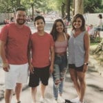 Jon Gosselin's Girlfriend Shares Christmas Photo with Kids as Jon's Latest Battle with Kate Rages On