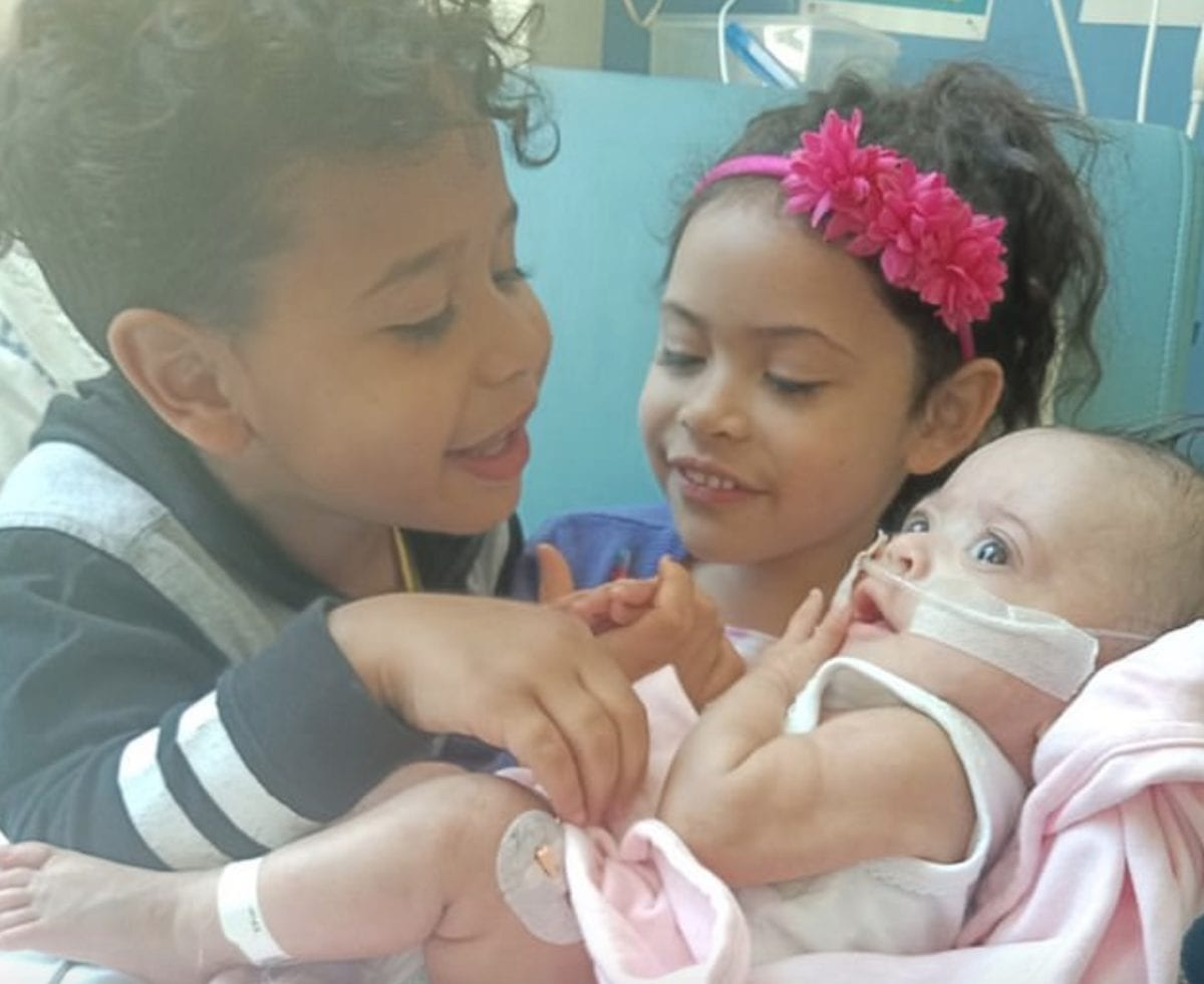premie baby goes home at 17 months in time for christmas