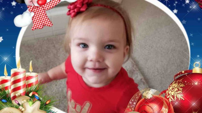one-year-old called a christmas miracle after she was declared dead twice and came back to life both times