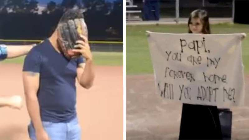 Stepdad Breaks Down in Tears After His Step Daughter Asks to be Adopted: 'Papi You Are My Forever Father'