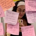 Moms Cover Airport Lactation Rooms with Messages of Encouragement: 'What You Are Doing Is Beyond Amazing!'