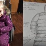 Girl With Cerebral Palsy Told Parents She Was Cold at Recess, So Mom Designed a Coat That's Selling Out