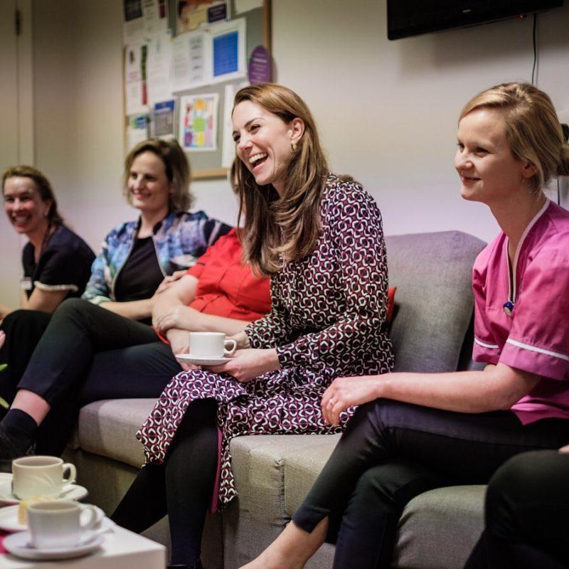 kate middleton writes letter after volunteering w/ midwives