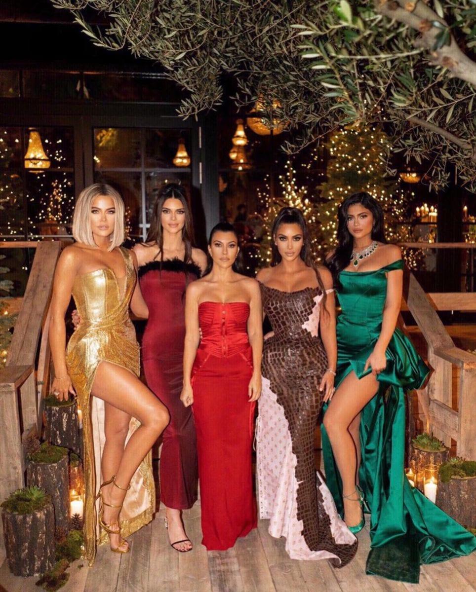 the kardashian-jenner christmas celebration was extravagant
