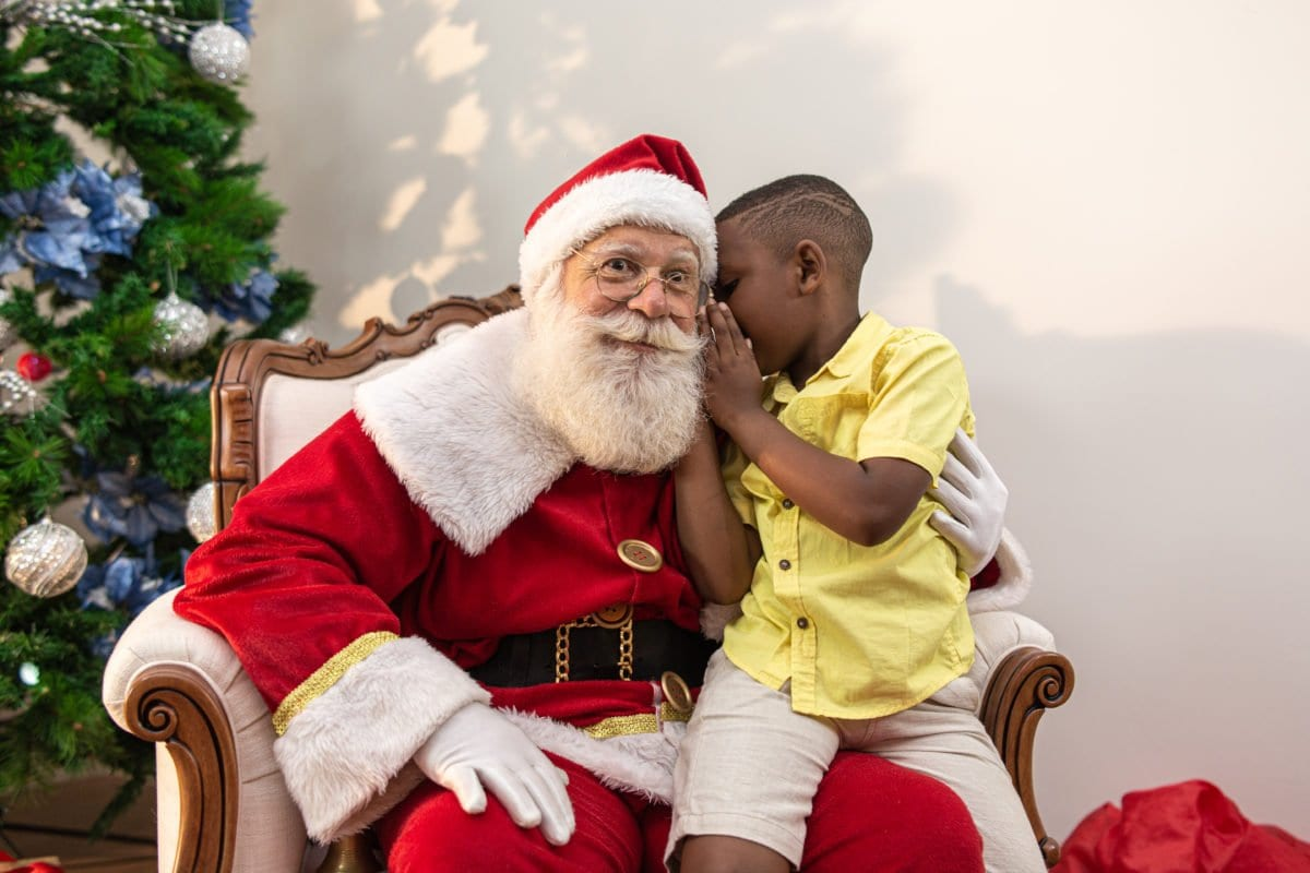 Boy Writes Letter to Santa Claus Asking for a Very Good Dad