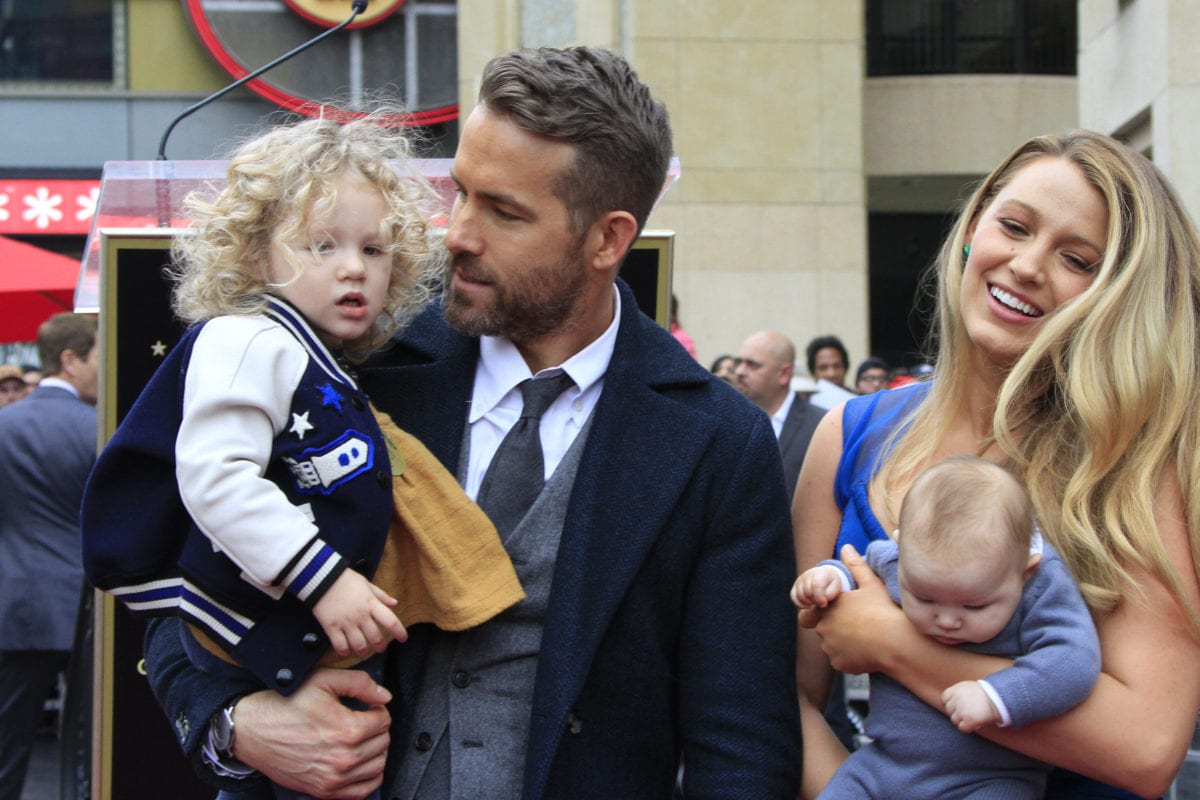 ryan reynolds does not want his daughter in show business
