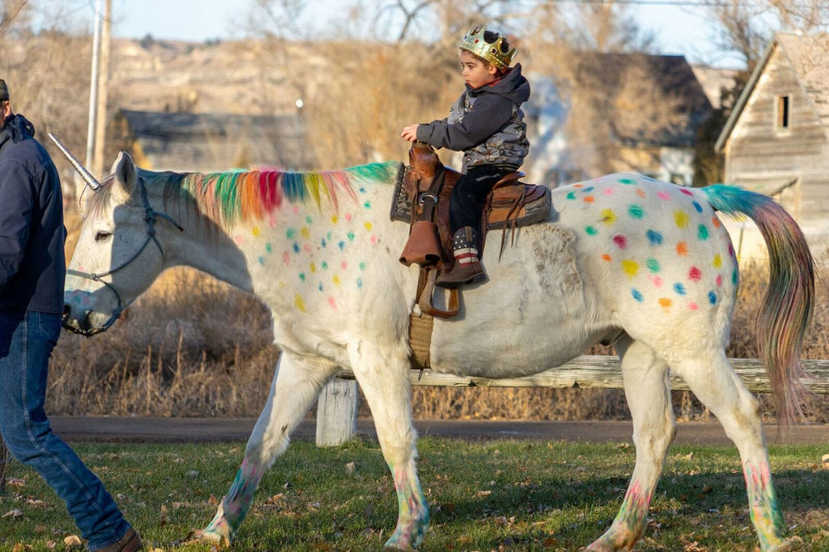 Wyatt Haas: 5-Year-Old with Brain Cancer Gets Magical Surprise Before Beginning Treatment: A Real-Life Unicorn Ride!
