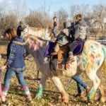 5-Year-Old with Brain Cancer Gets Magical Surprise Before Beginning Treatment: A Real-Life Unicorn Ride!