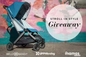 Giveaway Alert: Win an UPPAbaby MINU Stroller and a $150 Belly Bandit Shopping Spree!