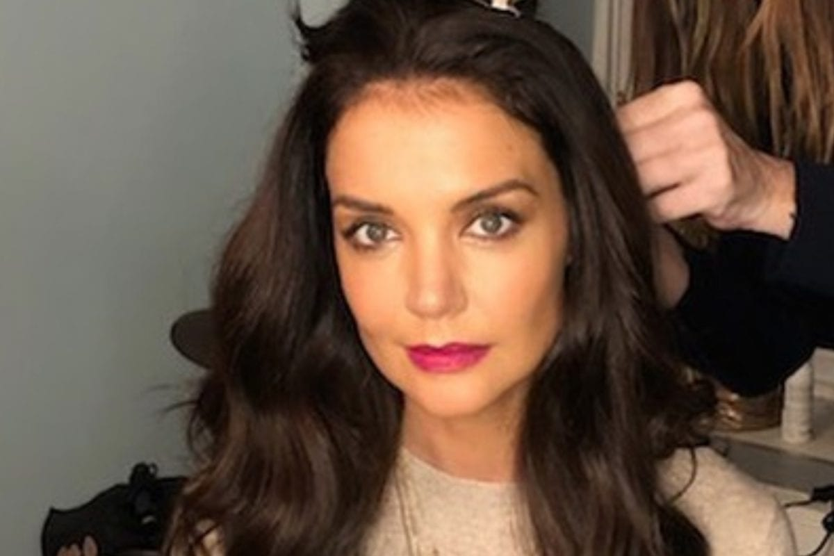 Actress Katie Holmes Share Rare Black-and-White Picture of Teen Daughter Suri, and They Look So Much Alike