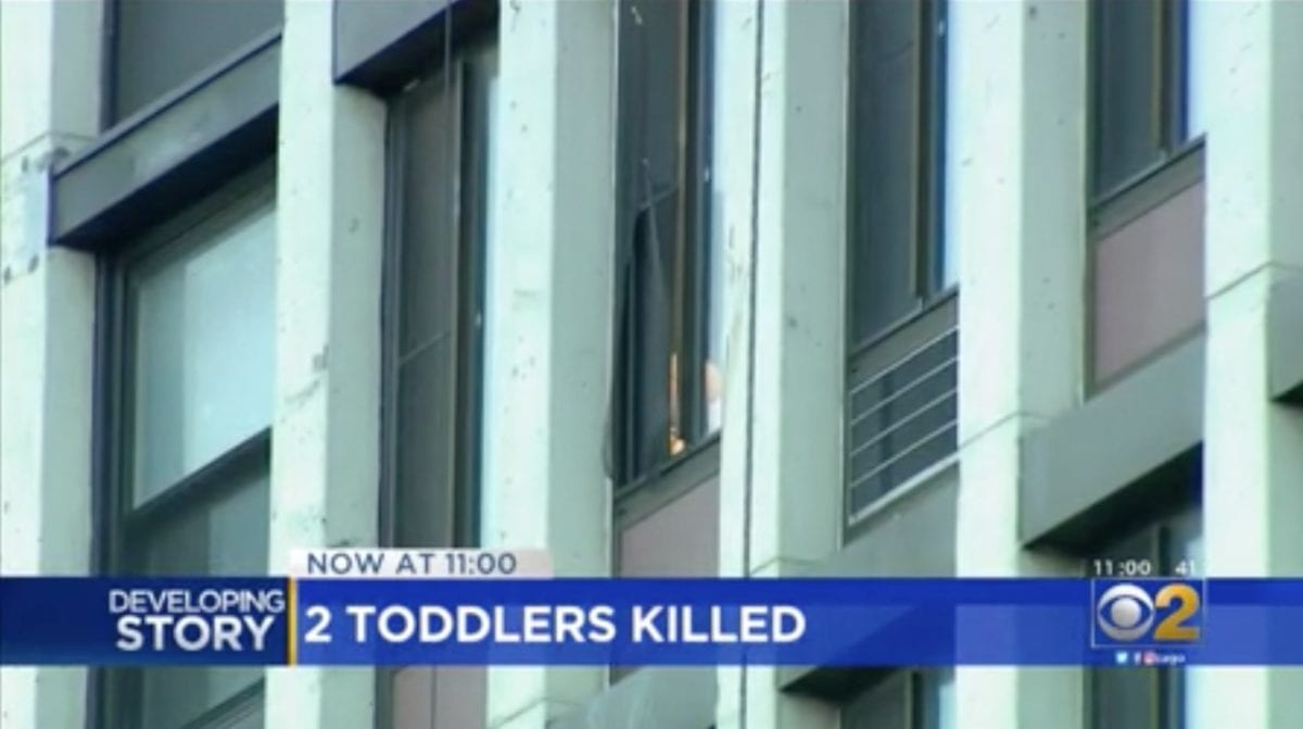 mom and toddler found on the ground outside apartment building, and baby found in scalding bath—police believe it was an attempted murder-suicide | the mom survived the fall but remains sedated.