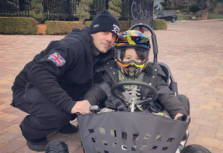 Criss Angel Shaves His 5-Year-Old Son's Head Amid Heartbreaking Cancer Battle