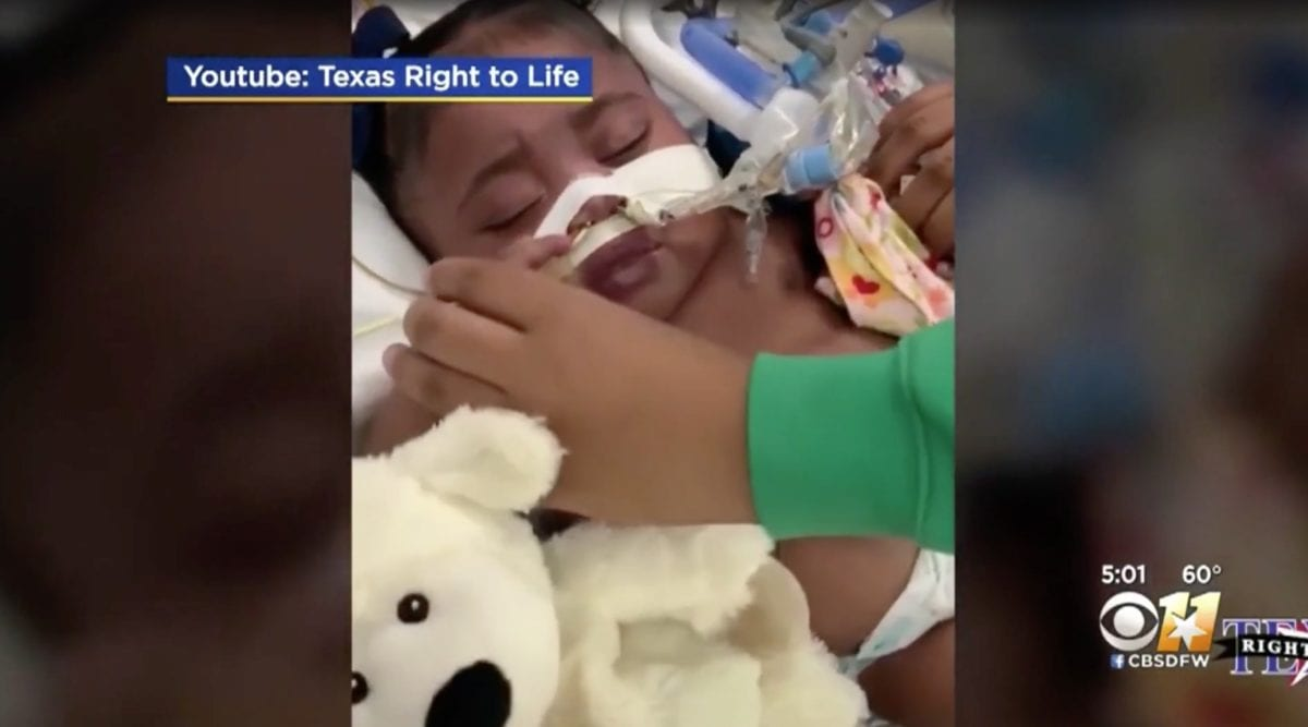 parents fight for right to keep tinslee on life support