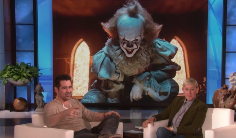 actor colin farrell admits lapse in judgment as a father, regrets letting 8-year-old son watch 'it'