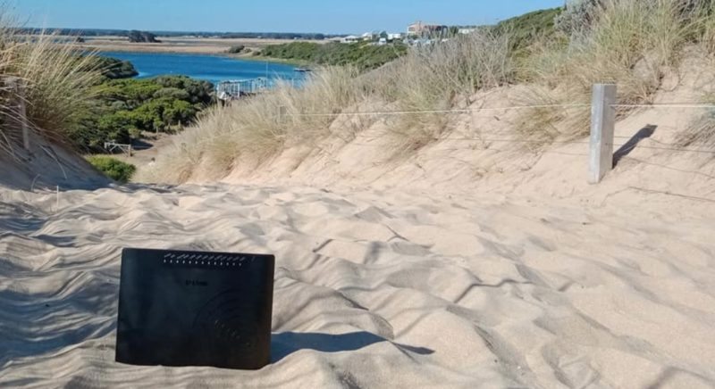 parents applauded for their creativity after revealing they took their wi-fi modem on a day trip instead of their three 'unappreciative kids'