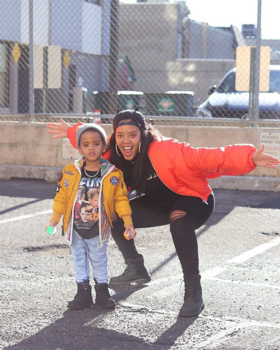 angela simmons reveals how she told her son his father died
