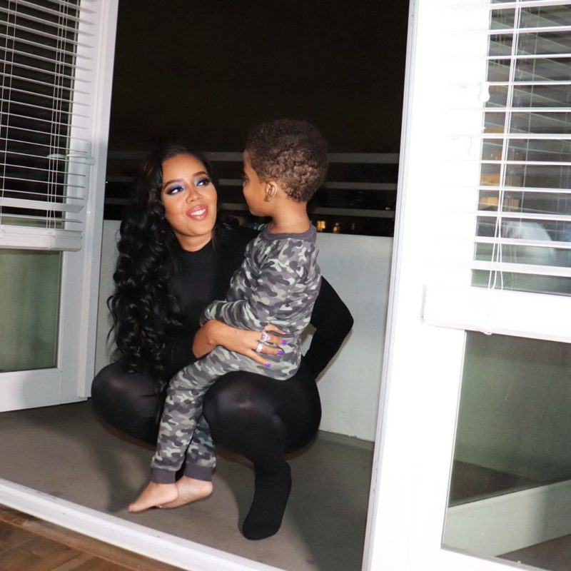 reality star angela simmons opens up about how she told her 3-year-old son about his father's death | angela simmons, daughter of run d.m.c.'s rev run and star of growing up hip hop, opened up about sharing heartbreaking news with her three-year-old son sutton joseph. simmons ex-fiance, sutton tennyson, was tragically shot and killed in atlanta in 2018 and the mom was left wondering how to communicate the news to her young son.