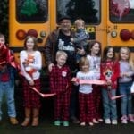 Meet the Grandpa Who Bought a Yellow School Bus Just So He Could Take His 10 Grandkids to School Every Day