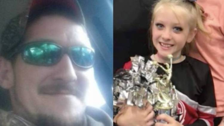 kim and lauren drawdy: a father and his 9-year-old daughter were tragically killed on new year's day by a hunter who mistook them for deer