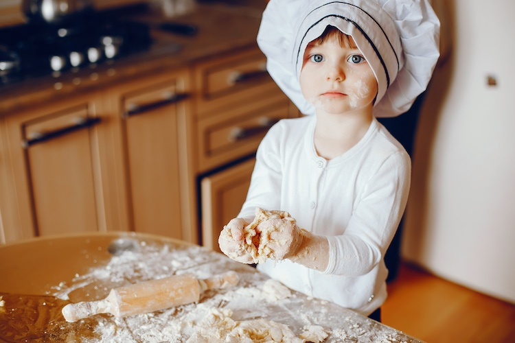 how do i get my young children more involved in the kitchen so that they become better eaters?