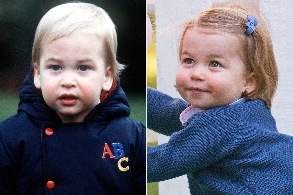 watch prince william mistake a photo of himself for his daughter charlotte