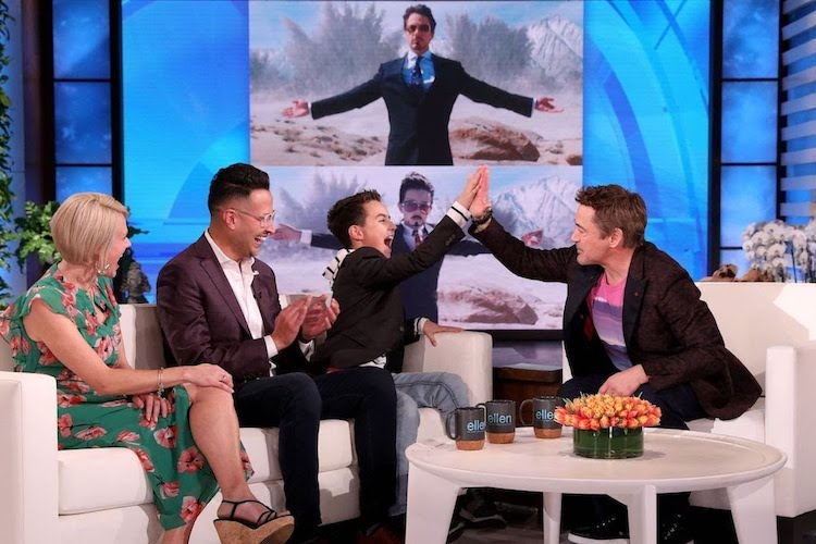 A 10-Year-Old Boy with Autism Became Verbal Thanks to 'Iron Man.' Then He Got to Meet Robert Downey, Jr.