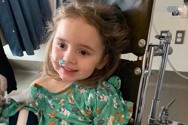 Jade DeLucia: Four-Year-Old Girl Is 'Lucky to Be Alive' After Losing Vision Due to the Flu. Her Parents Issue a Warning to Vaccinate.