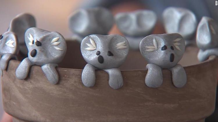 owen colley: 6-year-old boy has raised nearly $150,000 for australia's wildlife by selling adorable clay koalas