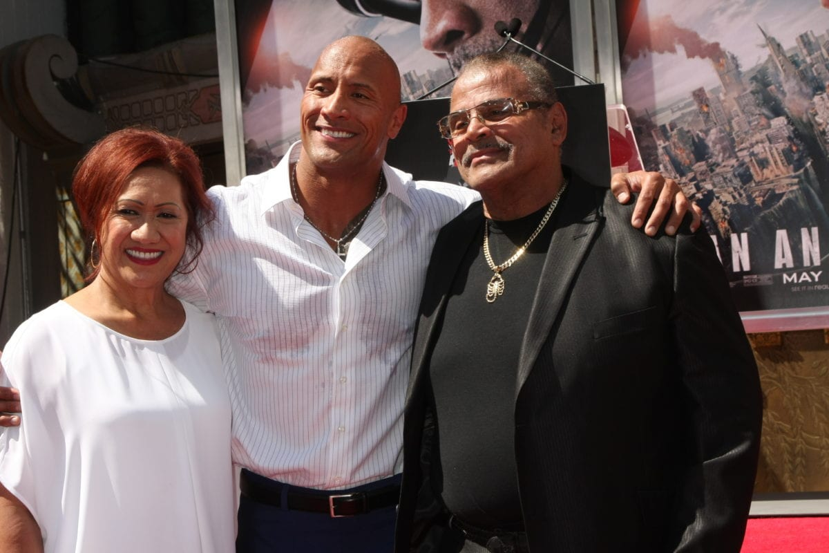 """dwayne 'the rock' johnson's beloved father has passed away at the age of 75, reports say 