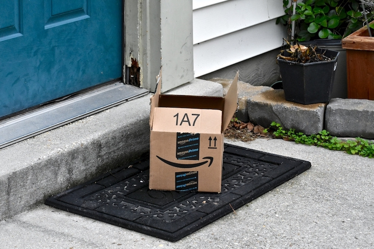 my neighbor stole a package off my front porch: how should i handle this?