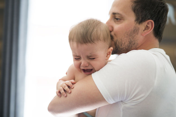 My Baby Cries Every Time His Dad Tries to Hold Him: How Do I Change This Behavior?