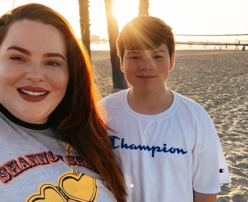 Model and Mom Tess Holliday Admits She Didn't Bond With Her Firstborn Child Right Away, And Struggled With Postpartum Depression After Her Second