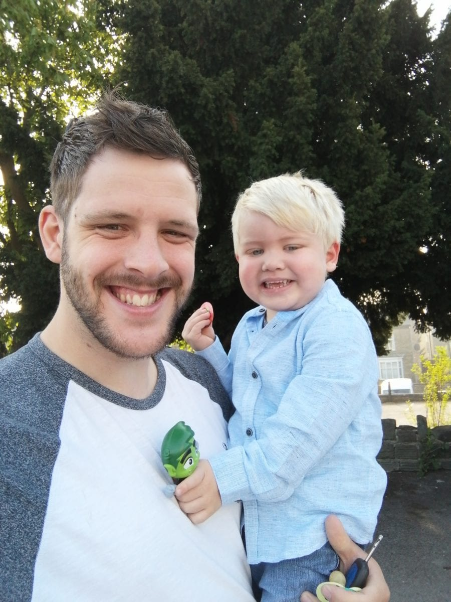 family shares son's story after lopsided smile was sign of cancer