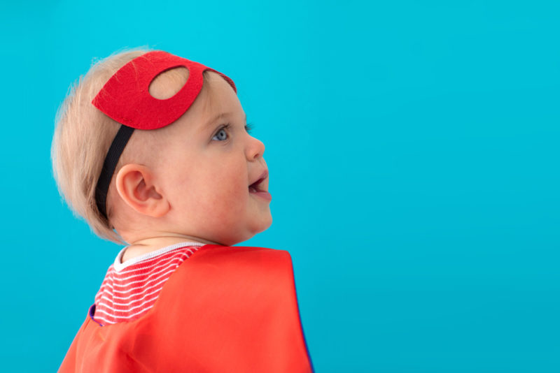30 Super Superhero-Inspired Baby Names For Boys And Girls