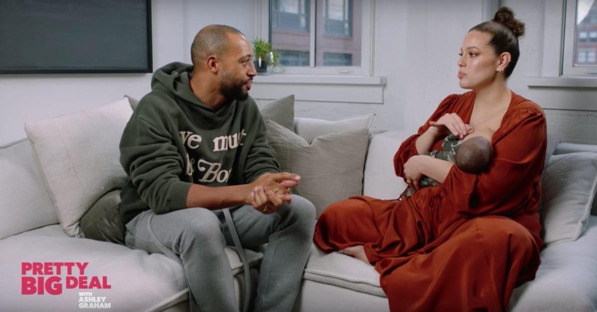 Ashley Graham Talks Labor, Introduces 1st Son on Podcast