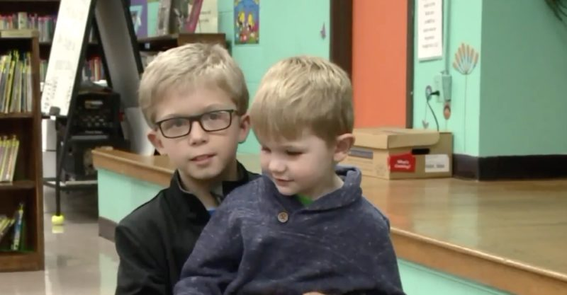 A 9-Year-Old Boy Is Being Hailed a Hero After He Saved His 3-Year-Old Cousin From Choking on a Piece of Candy By Using the Heimlich Maneuver