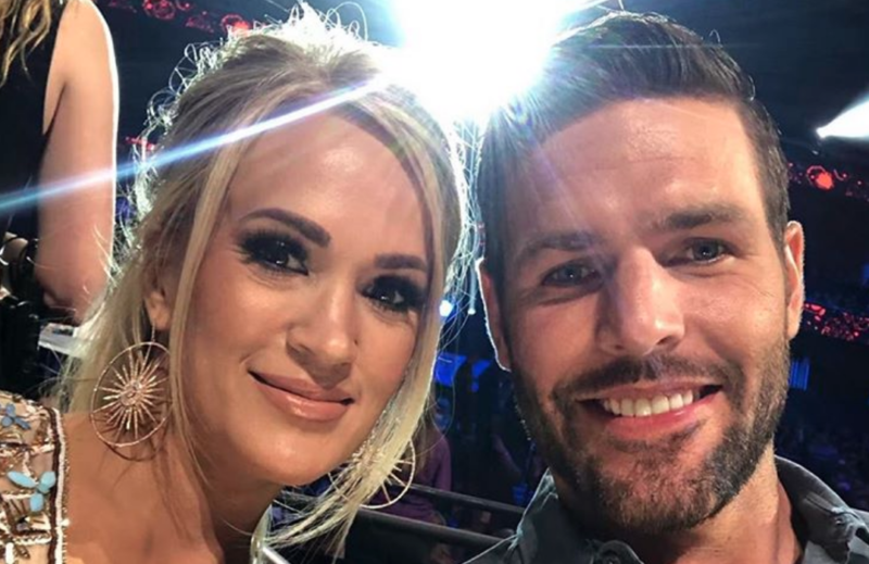 carrie underwood's preschool age son thinks she is 70-years-old and that her job is... doing the laundry