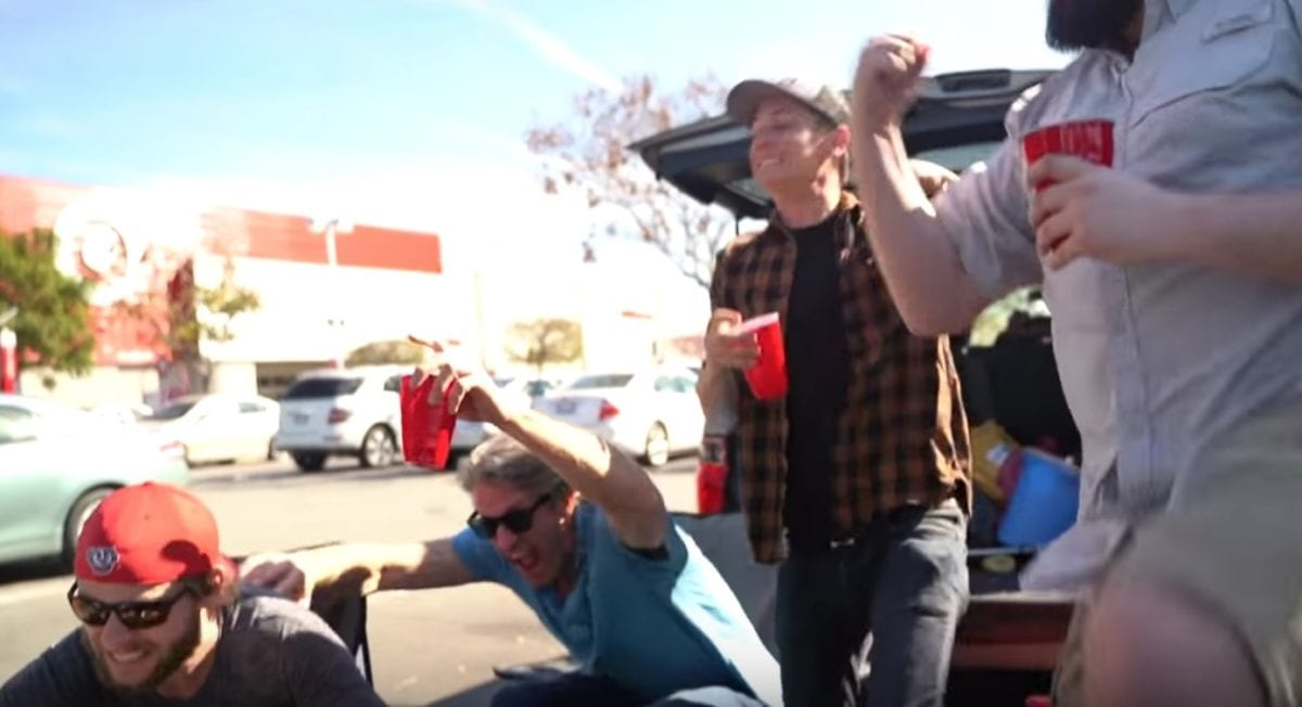 viral video: people can't stop relating to a video four comedians made called the 'husbands of target'