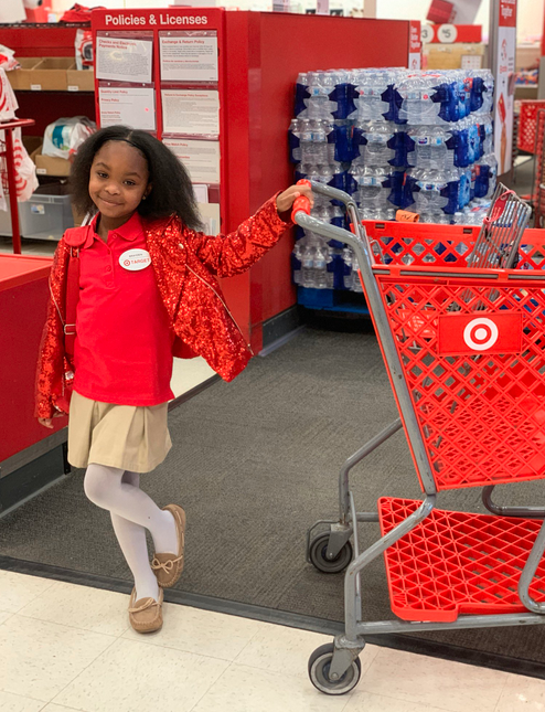 this 8-year-old girl had the most amazing target birthday party, and our jealousy is at an all-time high