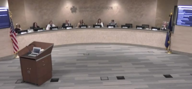 teacher resigns during livestream in front of school board to teach most important lesson of all