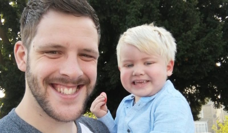 family shares late son's story after his lopsided smile actually turned out to be a sign of brain cancer