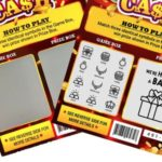 There's a New Way to Announce You're Having a Baby to Your Loved Ones—Scratch-Off Lottery Tickets