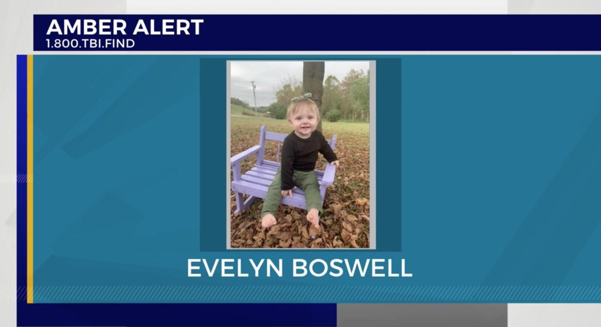 megan boswell arrested following daughter evelyn's disappearance