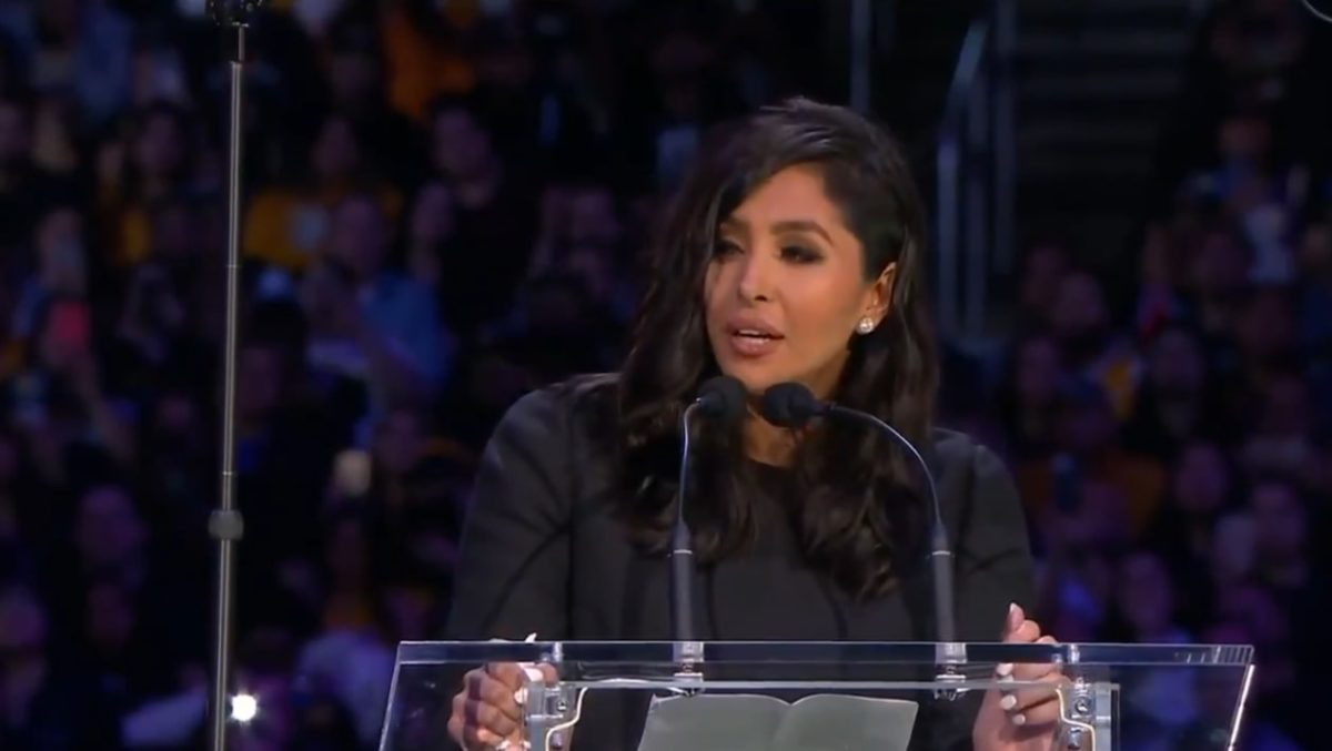 "Vanessa Bryant's Gives Heartbreaking Speech at Memorial Service For Kobe and Gianna: ""God knew they couldn't be on this earth without each other"""